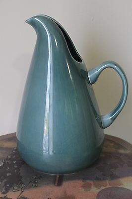 Vintage Russel Wright American Modern Green Ceramic Water Pitcher
