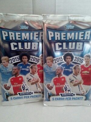 Topps Premier Club 2015/16 10X Single Packs