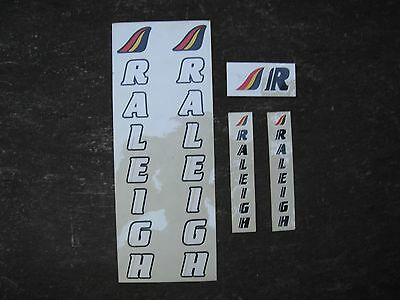 Assorted Raleigh Bike Bicycle Decals Stickers Vintage Not Remade! Free Shipping!