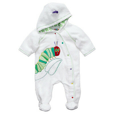 NWT The Very Hungry Caterpillar Girls Boys Coverall Romper Jumpsuit Size 000