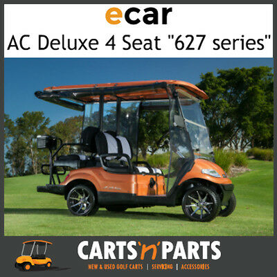Ecar AC POWER DELUXE 4 Seat NEW GOLF CART Buggy 627 Series Full Deluxe Package S