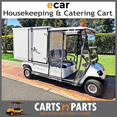 LT-A2.GC Housekeeping Catering Golf Cart 2 Seat Deluxe Package
