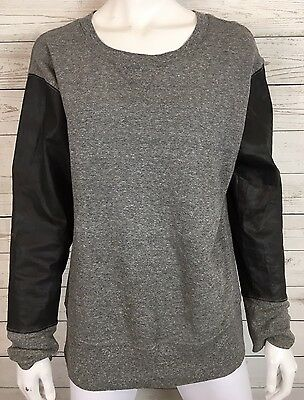 NWT Current//Elliott The Stadium Sweatshirt with Zips