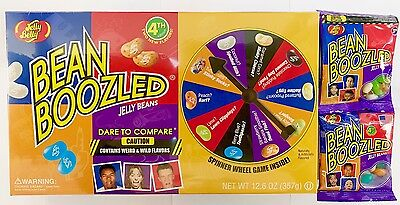 JELLY BELLY BEAN BOOZLED GAME 357g + 3RD EDITION BAG 54g + 4TH EDITION BAG 53g