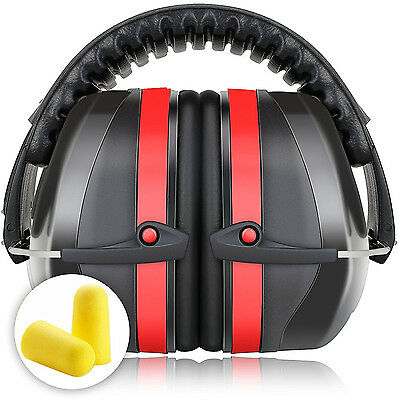 Professional Industrial Adjustable Ear Muffs Hearing Protection Highest NRR 34dB