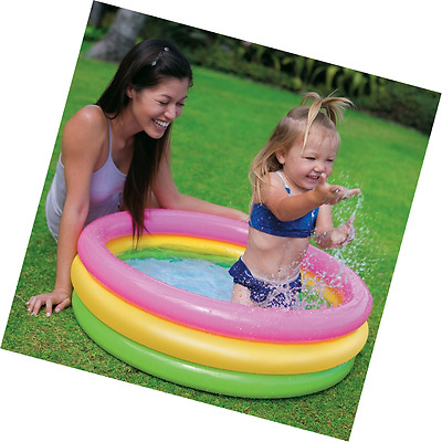 Intex Sunset Glow Baby Swimming Wading pool 34 in x 10 in No Tax