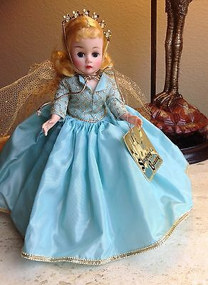 "VINTAGE MADAME ALEXANDER SLEEPING BEAUTY 9"" CISSETTE DOLL 1959 Mint original box"