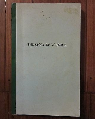 The Story Of J Force Signed by Alex Dandie First Edition Numbered 143