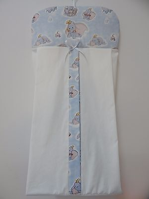 Beautiful Classic Dumbo Nappy Diaper Stacker - 100% Cotton -  Handmade
