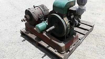Petter aivo vintage engine and GMF generator