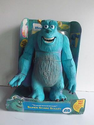 "Monsters Inc Sully Talking And Moving 12"" Figure New"