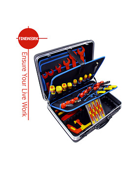 Insulated tool set Suitcase /48pcs/