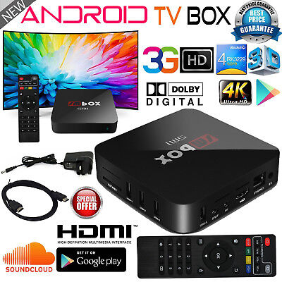 Android 8G 4K PRO Quad Core Smart OTT TV Box Streaming Player Ultra Show Sports