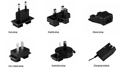 LINAK CH0800240 / FW7218M/24 charger (To suit UK, Euro, USA /Japan or Shaver)