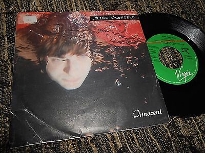 "Mike Oldfield Innocent/earth Moving Single 7"" 1989 Virgin Promo Spain"
