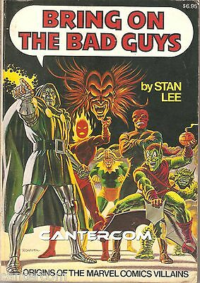 Bring On The Bad Guys Tp - Stan Lee - Marvel Comics