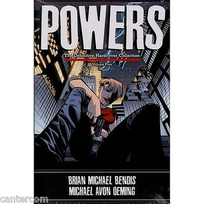 Powers: The Definitive Collection, Vol. 5-Brian Michael Bendis, Michael Avon Oem