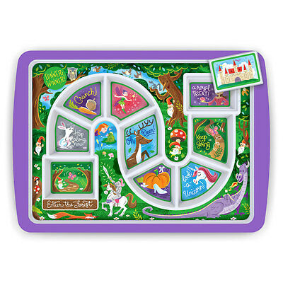 Forest Dinner Winner Race Kid's Dinner Tray By Fred Great For Fussy Eaters New