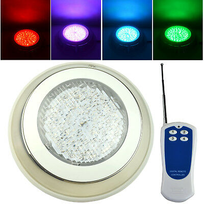 18W 2835 SMD 252LED RGB LED Swimmig Pool Light Stainless Steel for Fountain Pond
