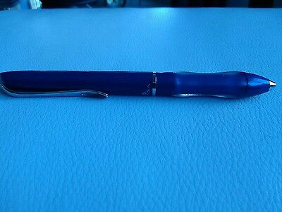 Sensa Cloud 9 Blue Ball Pen Cushioned Comfort Grip Japan New