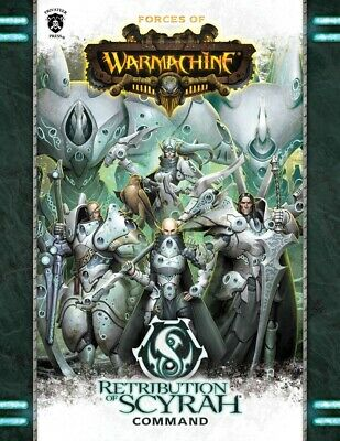 Forces of WARMACHINE Retribution of Scyrah Command Softcover Privateer Press New