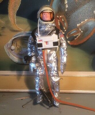 Original Vintage Rare First Issue 1960's Palitoy Action Man Astronaut, Complete
