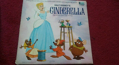 Walt Disneys Cinderella The story and the songs record