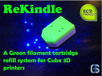 Refill your Cube Pro, Cube X, Cube 3 and Ekocycle Filament Cartridges