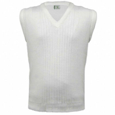 Greenplay Bowlswear Ribbed White Bowls Sleeveless Pullover. Price Reduced.