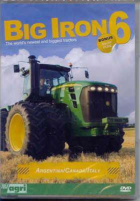 Big Iron Part 6, DVD The World's Newest and Biggest Tractors