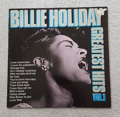 Billie Holiday Vinyl LP Greatest Hits