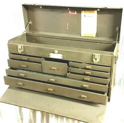 Kennedy Model 526 Machinist 8 Drawer Tool Box