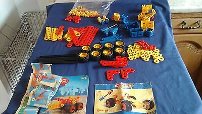 Junior Meccano,150+ Pieces Mixed Lot, Screwdriver, Spanner, People, Instructions