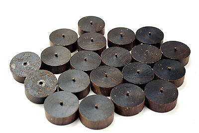 African Blackwood  33mm discs for games and craft projects, etc.