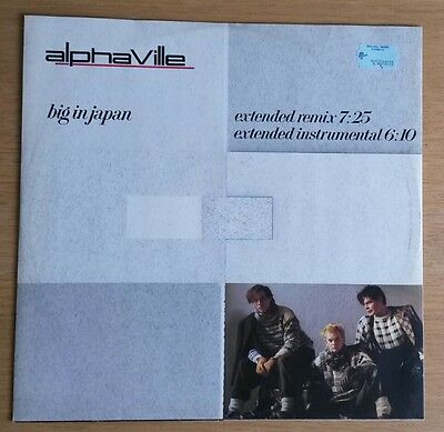 "Alphaville ‎– Big In Japan - original 1984 12"" vinyl single"