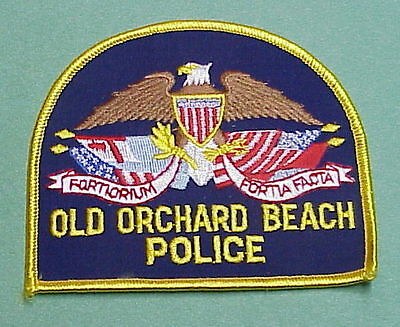 Old Orchard Beach  Maine  Me  Police Patch   Nice!!  Free Shipping!!!