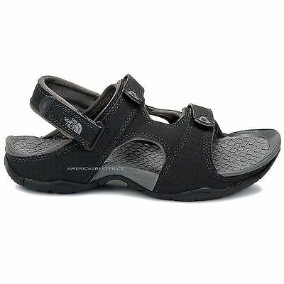 The North Face New Mens El Rio Ii Black Sport Sandals Highly Cushioned 12 Nwt