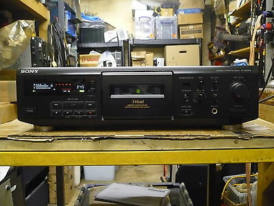 Sony TC-KE600s 3 Head Casette Deck With Remote Control (Very Good Cond)