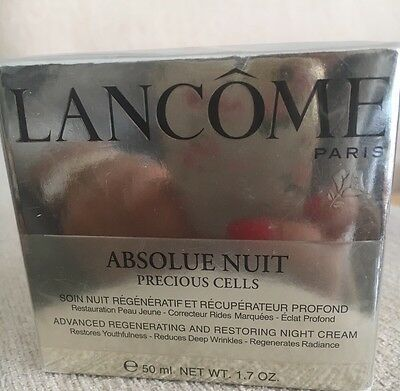 LANCOME ABSOLUE NUIT PRECIOUS CELLS 50 ml Neu OVP