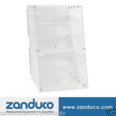 Omcan Acrylic Display Case with 4 Trays