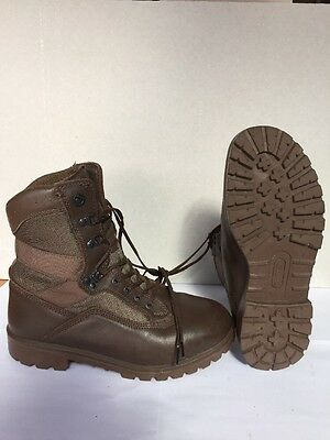 Grade 1 - Size 9 Medium Brown Yds Kestrel Patrol Boots. Genuine British Issue
