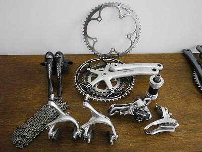 Campagnolo Record Carbon 10 Speed Triple Groupset In Good Condition