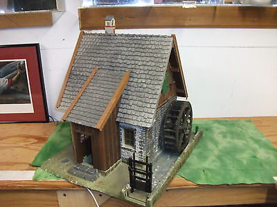 G  Scale   LGB   Water Wheel House    Made in Germany by  Pola.