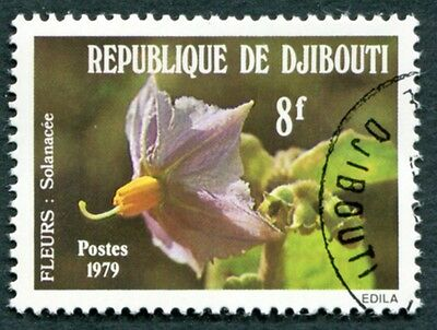 DJIBOUTI 1979 8f SG766 used NG Flowers Solanacea a #W29