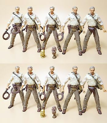 """lot of 10 INDIANA JONES 2008 RAIDERS OF THE LOST ARK FIGURE 3.75"""" AW7"""