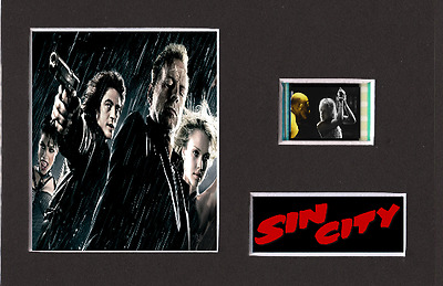 Sin City replica 35mm Mounted Film Cell Presentation 6 x 4
