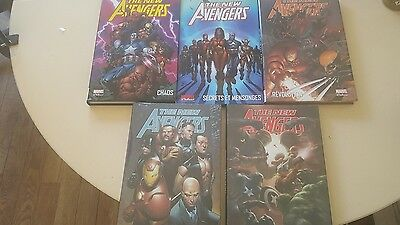 MARVEL DELUXE NEW AVENGERS Tomes 1 A 5 -TBE