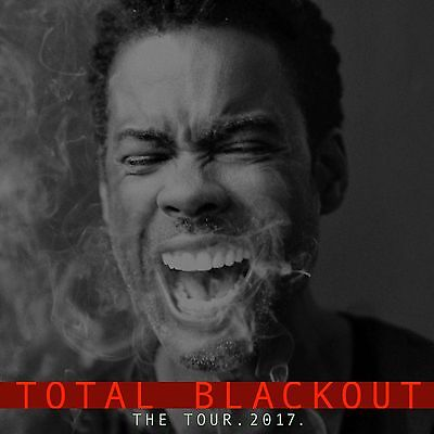 2 x CHRIS ROCK ✹FRONT FLOOR SEATS - ROW D✹ THE O2 LONDON SATURDAY