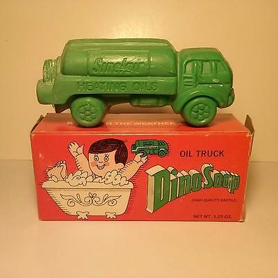 Vintage 1950's Sinclair Heating Oil Truck Dino Soap - Unused With Box