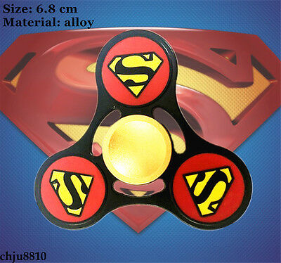 DC Comics Superman alloy Hand Spinner Triangle Fidget Spinner Finger Toy
